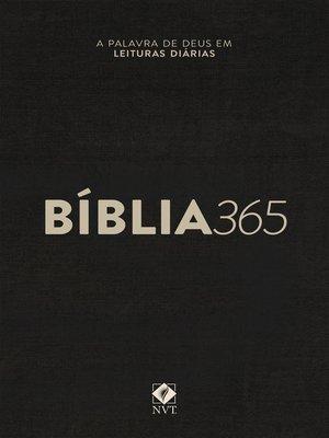 cover image of Bíblia 365 NVT--Capa Clássica