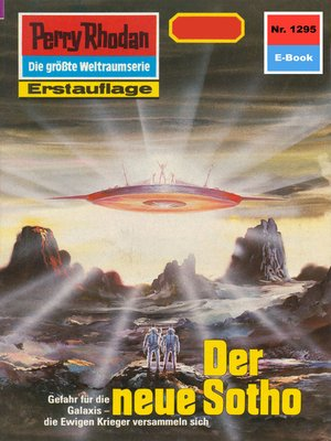 cover image of Perry Rhodan 1295