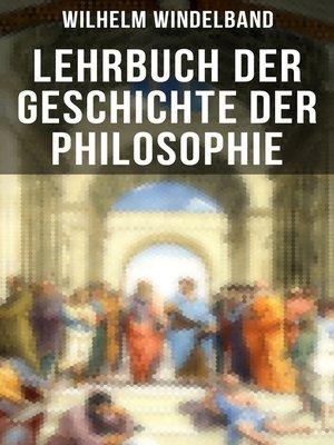 cover image of Lehrbuch der Geschichte der Philosophie