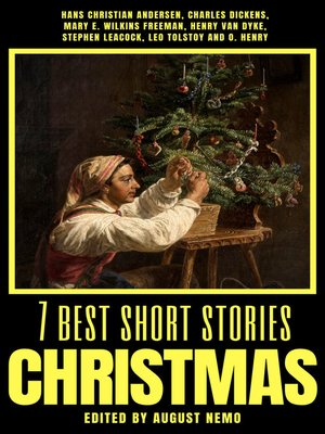 cover image of 7 best short stories--Christmas