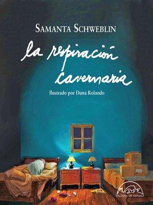cover image of La respiración cavernaria