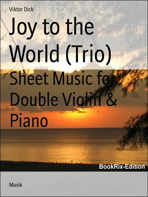 cover image of Joy to the World (Trio)