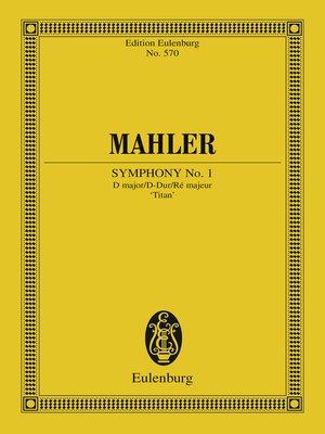 cover image of Symphony No. 1 D major