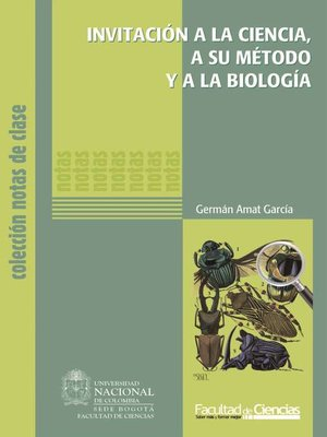 cover image of Invitación a la ciencia, a su método y a la biología