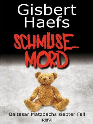 cover image of Schmusemord