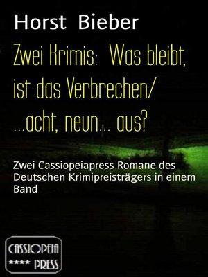 cover image of Zwei Krimis