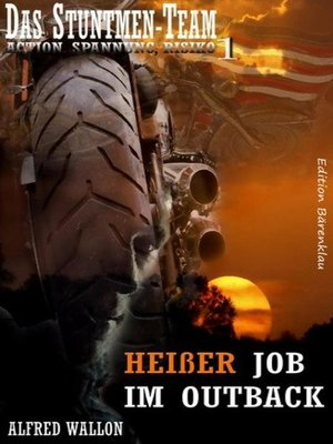 cover image of Heißer Job im Outback (Das Stuntman-Team 1)