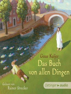 cover image of Das Buch von allen Dingen