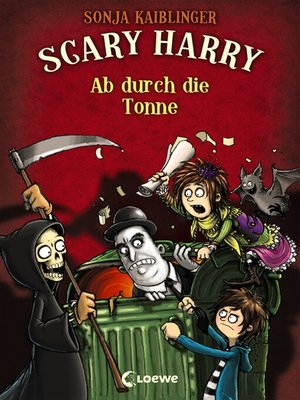 cover image of Scary Harry 4--Ab durch die Tonne
