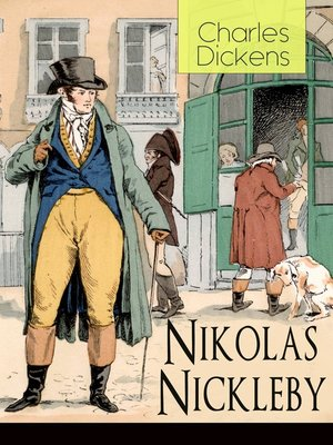 cover image of Nikolas Nickleby