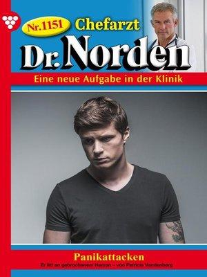 cover image of Chefarzt Dr. Norden 1151 – Arztroman