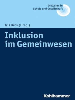cover image of Inklusion im Gemeinwesen
