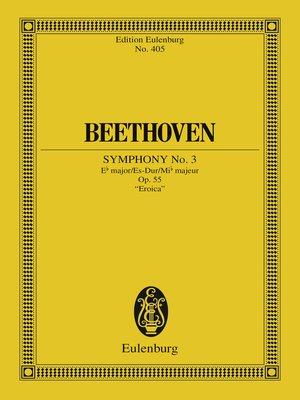 cover image of Symphony No. 3 Eb major