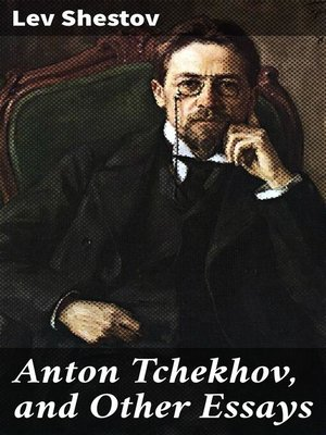 cover image of Anton Tchekhov, and Other Essays