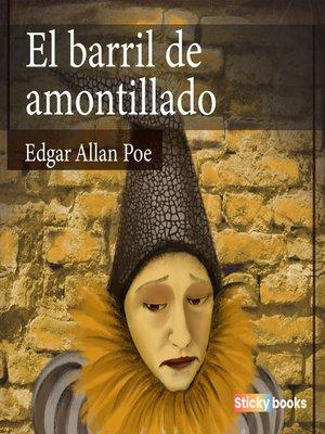 cover image of El barril de amontillado