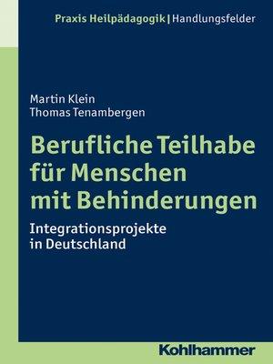cover image of Berufliche Teilhabe für Menschen mit Behinderungen