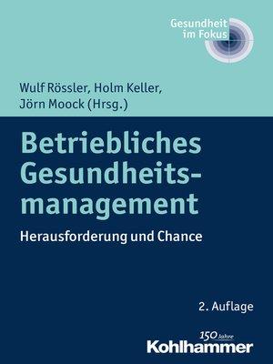 cover image of Betriebliches Gesundheitsmanagement