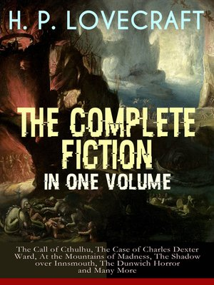 cover image of H. P. Lovecraft – the Complete Fiction in One Volume