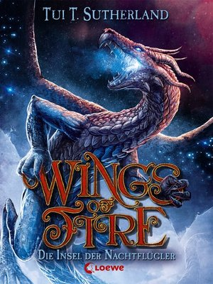cover image of Wings of Fire 4--Die Insel der Nachtflügler
