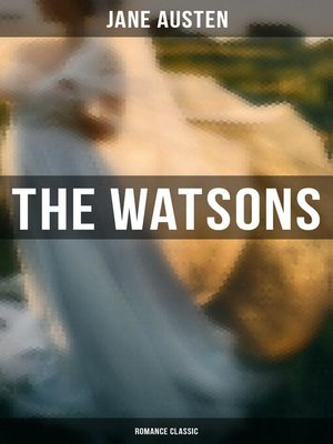 cover image of The Watsons (Romance Classic)