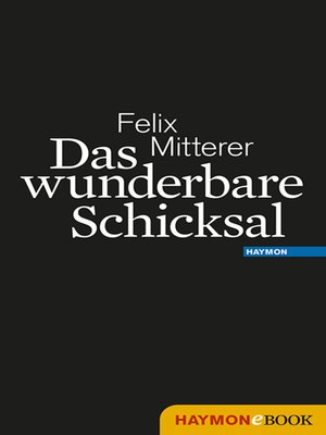 cover image of Das wunderbare Schicksal