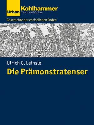 cover image of Die Prämonstratenser