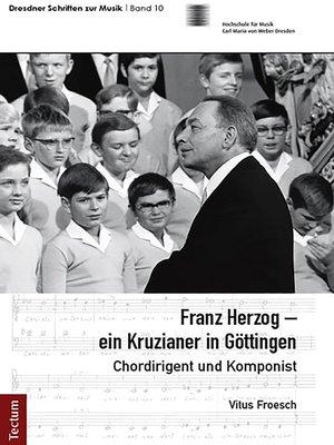 cover image of Franz Herzog – ein Kruzianer in Göttingen