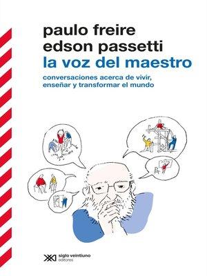 cover image of La voz del maestro