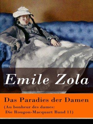 cover image of Das Paradies der Damen (Au bonheur des dames