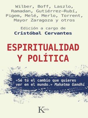 cover image of Espiritualidad y política