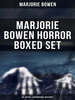 cover image of MARJORIE BOWEN Horror Boxed Set