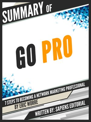 """cover image of Summary of """"Go Pro"""