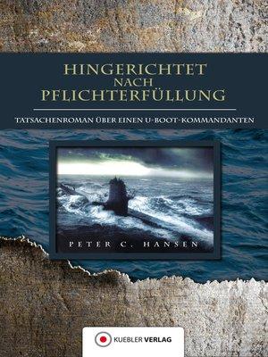 cover image of Hingerichtet nach Pflichterfüllung
