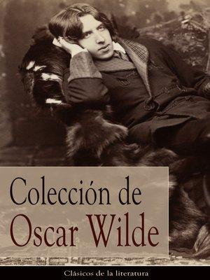 cover image of Colección de Oscar Wilde