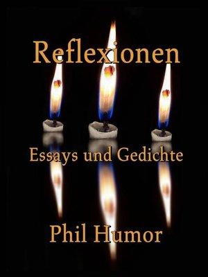 cover image of Reflexionen