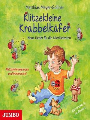cover image of Klitzekleine Krabbelkäfer