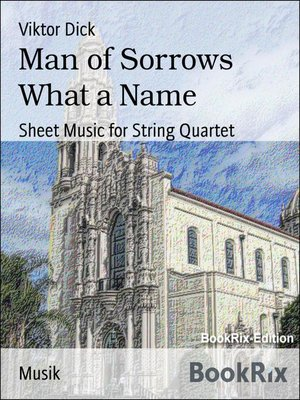 cover image of Man of Sorrows What a Name