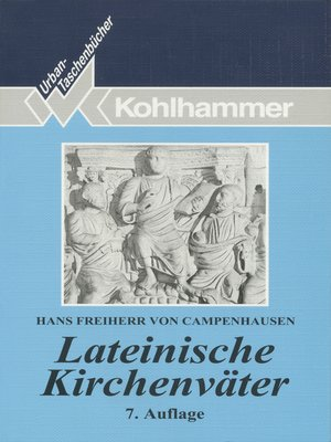 cover image of Lateinische Kirchenväter