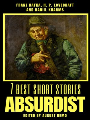 cover image of 7 best short stories--Absurdist