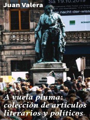 cover image of A vuela pluma