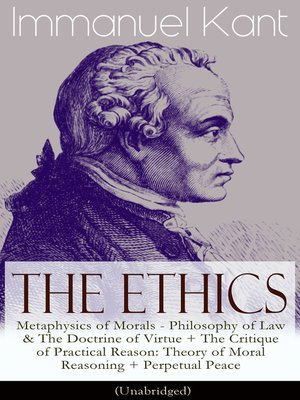 cover image of The Ethics of Immanuel Kant