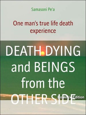 cover image of DEATH DYING and BEINGS from the OTHER SIDE