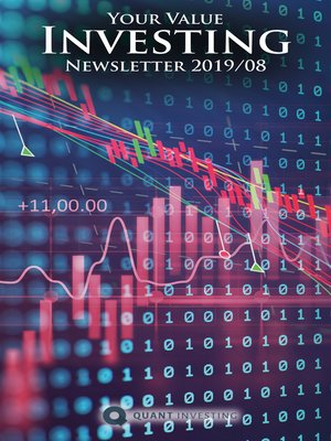 cover image of 2019 08 Your Value Investing Newsletter by Quant Investing / Dein Aktien Newsletter / Your Stock Investing Newsletter