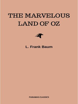 cover image of The Marvelous Land of Oz (Oz series Book 2)