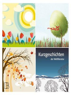 cover image of Kurzgeschichten der Weltliteratur