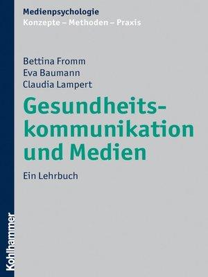 cover image of Gesundheitskommunikation und Medien