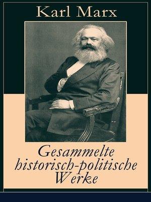 cover image of Gesammelte historisch-politische Werke