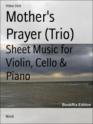 cover image of Mother's Prayer (Trio)