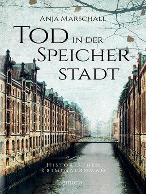cover image of Tod in der Speicherstadt