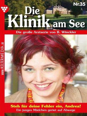 cover image of Die Klinik am See 35 – Arztroman